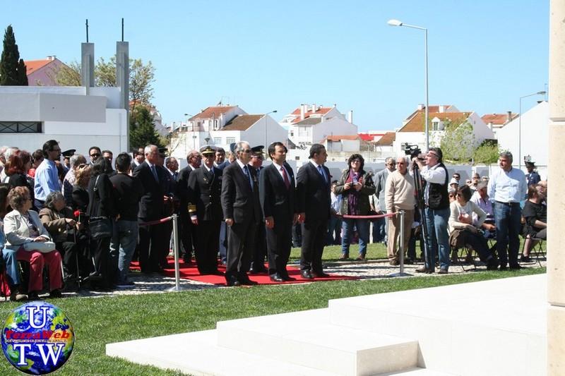 MONTIJO: As imagens da inauguração do Monumento de Homenagem aos Combatentes do Ultramar - 25Abr2016 20160425_12