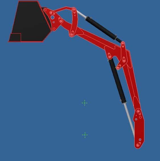 Proyecto de construccion de una pala para un mini tractor 012