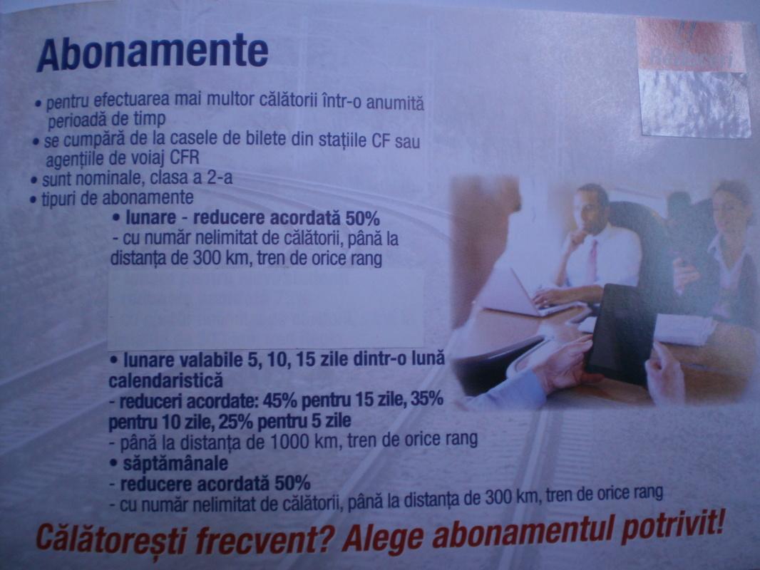 BROSURI, AFISE SI PLIANTE C.F.R. - Pagina 5 P1012789