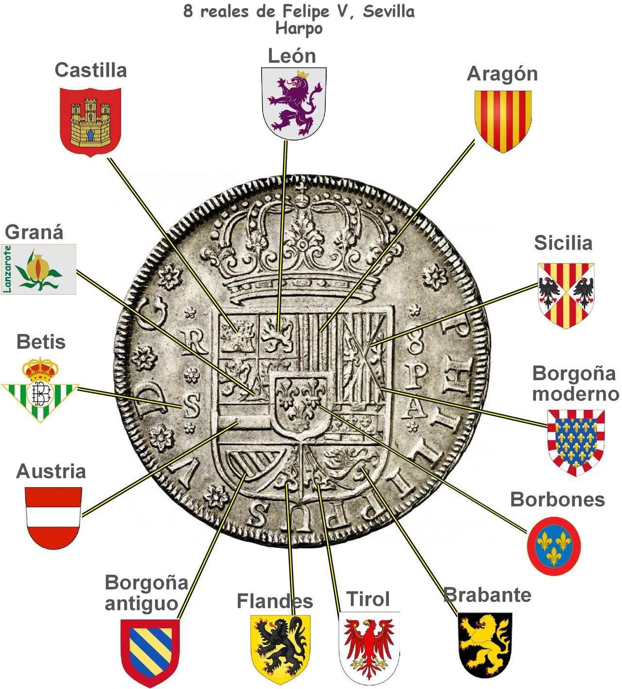 8 REALES • FELIPE V • 1731 • SEVILLA • Dedicada a LANZAROTE - Página 2 Harpo_sevilla_escudo