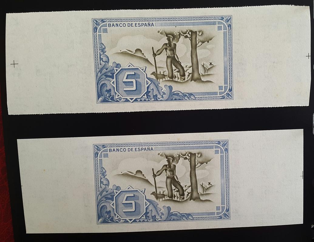 Lote de billetes de Bilbao 1937 y sus manchitas 2018-07-23_18.52.32