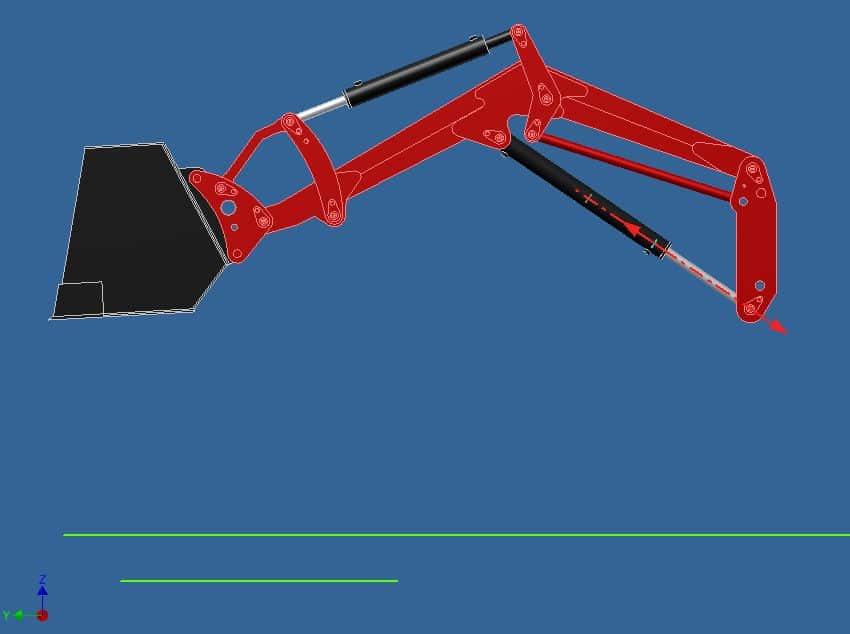 Proyecto de construccion de una pala para un mini tractor 006