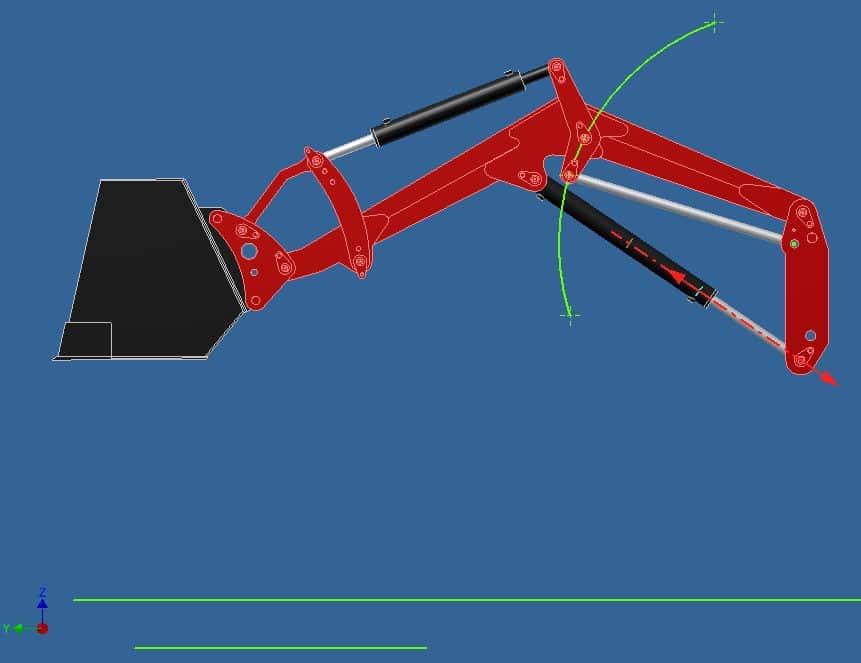 Proyecto de construccion de una pala para un mini tractor 016