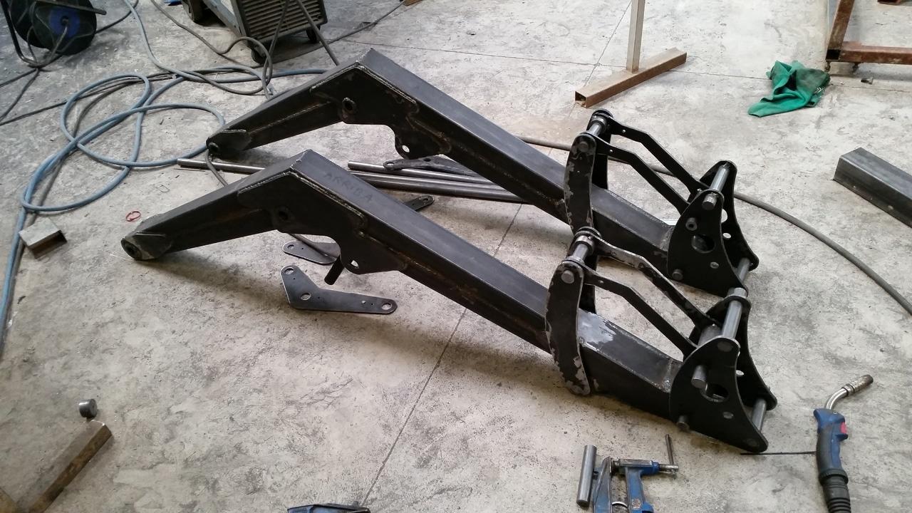 Proyecto de construccion de una pala para un mini tractor 117