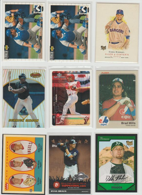 .15 CENT CARDS ALL SCANNED OVER 6000 CARDS  054