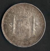 1 peso 1895. Alfonso XIII. Puerto Rico Puerto_Rico_001