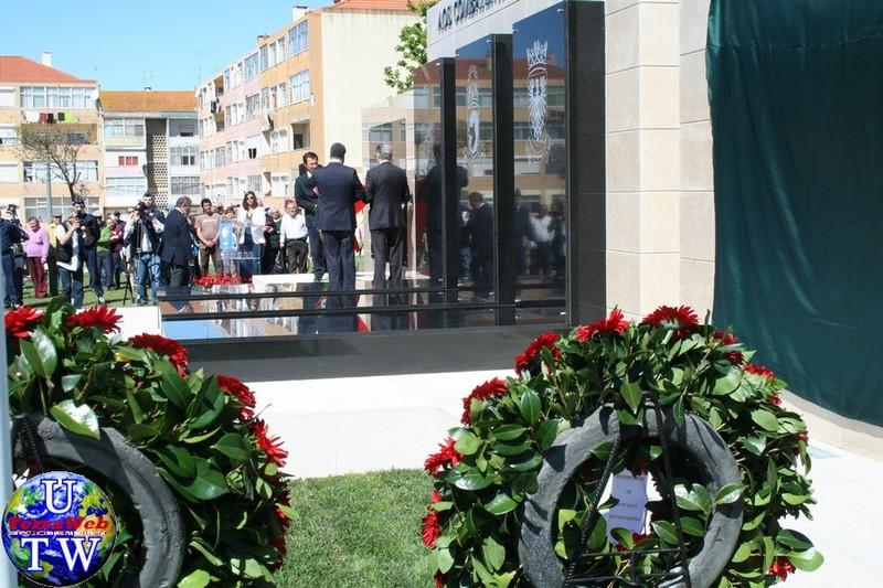 MONTIJO: As imagens da inauguração do Monumento de Homenagem aos Combatentes do Ultramar - 25Abr2016 20160425_21