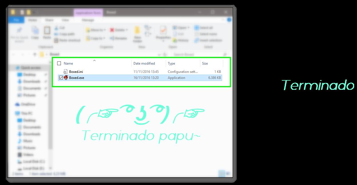 Tutorial: Empaquetar con Enigma Virtual Box 7_Terminado_Papu