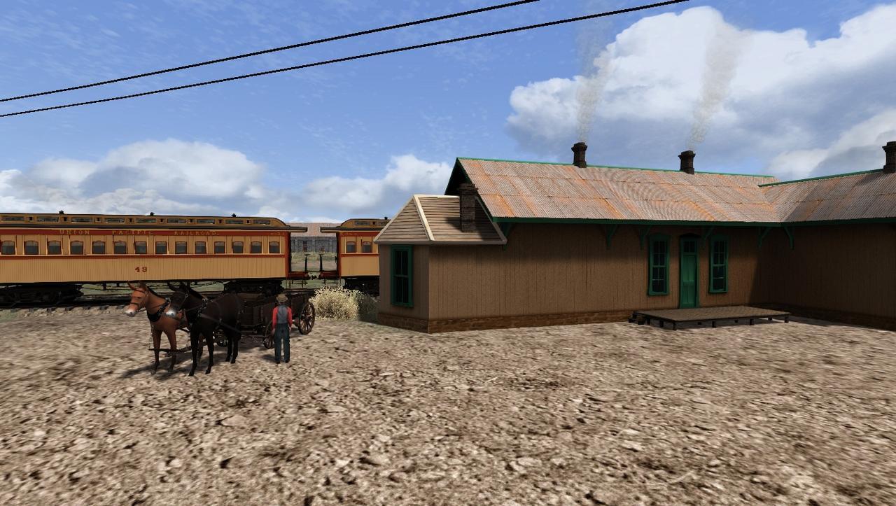 """TS2018 - Rota Cheyenne 1869 com a UP190 """"America"""" Screenshot_Cheyenne_1869_41.13124--104.81567_14-56-55"""