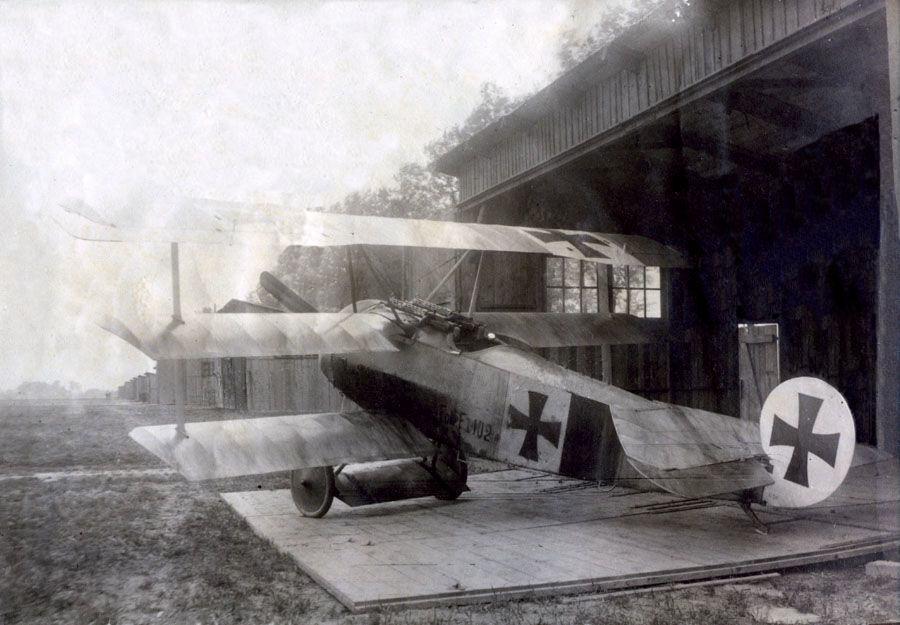 peinture brossée de Fokker Dr.I 15_zps3f346393