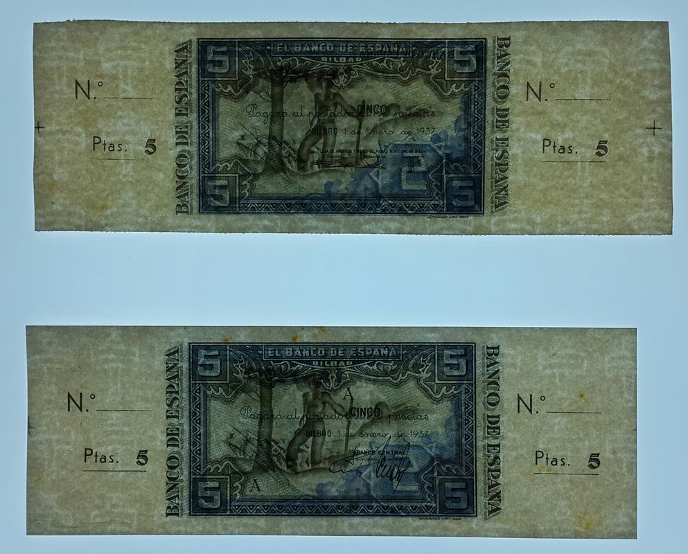 Lote de billetes de Bilbao 1937 y sus manchitas 2018-07-23_18.51.13