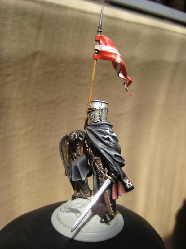 Рыцарь госпитальеров 11 век. Прапор. 55 мм. IMG_9007