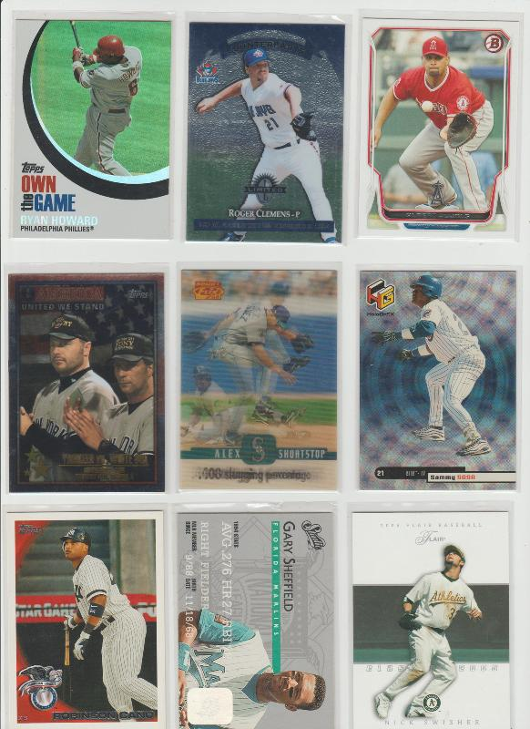 .15 CENT CARDS ALL SCANNED OVER 6000 CARDS  030