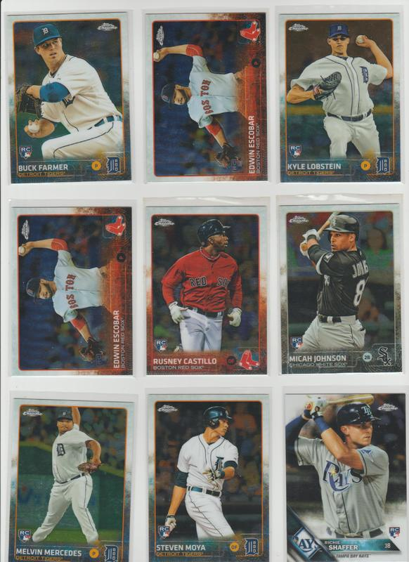 .15 CENT CARDS ALL SCANNED OVER 6000 CARDS  019