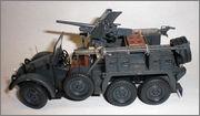 Kfz.69 Krupp Protze с орудием 3.7cm Pak 35/36 (1/35 Tamiya 35259 + Звезда 3610) 022