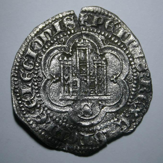 2 maravedís de Pedro I (1350-1369) de Sevilla Pedro_I_2_Maravedis_Sevilla_A