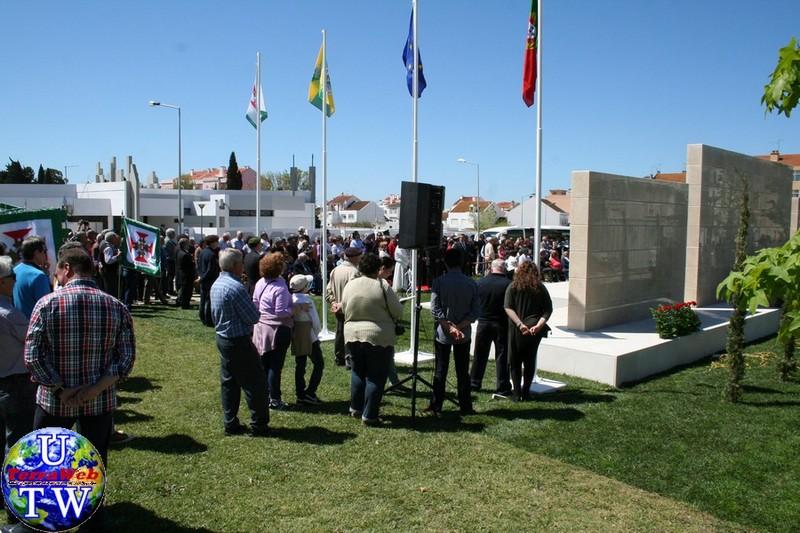 MONTIJO: As imagens da inauguração do Monumento de Homenagem aos Combatentes do Ultramar - 25Abr2016 20160425_101