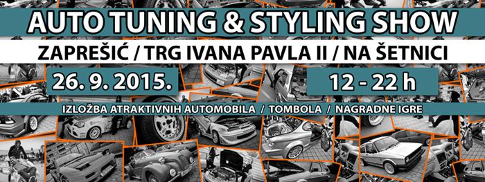 26.9.2015 - 3.Auto tuning & styling show by AK Zaprešić @ Zaprešić Show105web