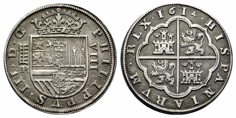 Tostao de Felipe III, Lisboa, dedicado al amigo jaenero 15segoviana