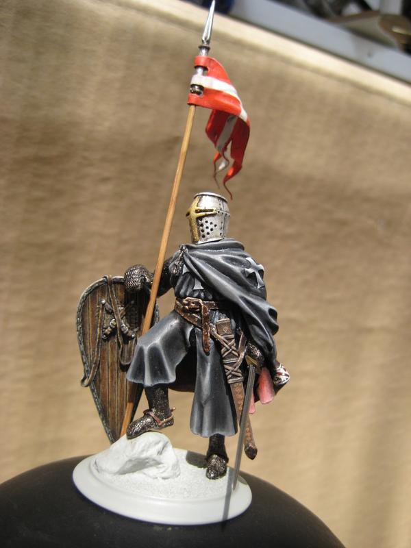 Рыцарь госпитальеров 11 век. Прапор. 55 мм. IMG_9004