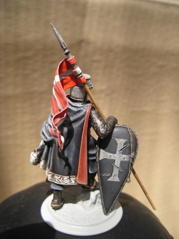 Рыцарь госпитальеров 11 век. Прапор. 55 мм. IMG_9020