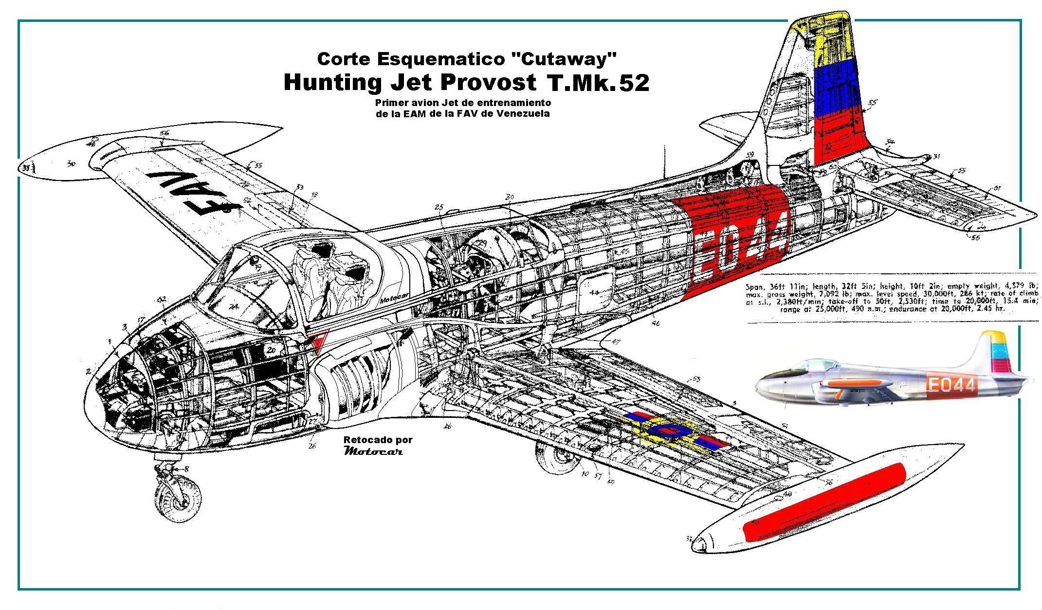 Entrenadores - Página 39 Cutaway_Hunting_Jet_Provost_EAM_FAV
