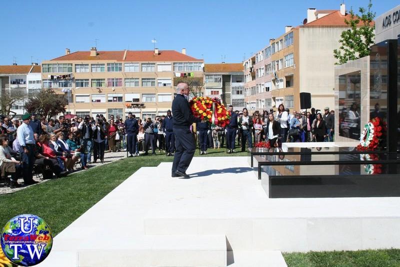 MONTIJO: As imagens da inauguração do Monumento de Homenagem aos Combatentes do Ultramar - 25Abr2016 20160425_38