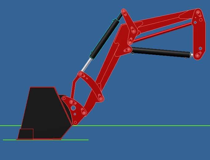 Proyecto de construccion de una pala para un mini tractor 005