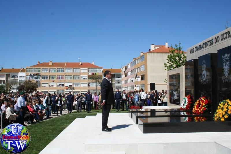 MONTIJO: As imagens da inauguração do Monumento de Homenagem aos Combatentes do Ultramar - 25Abr2016 20160425_43