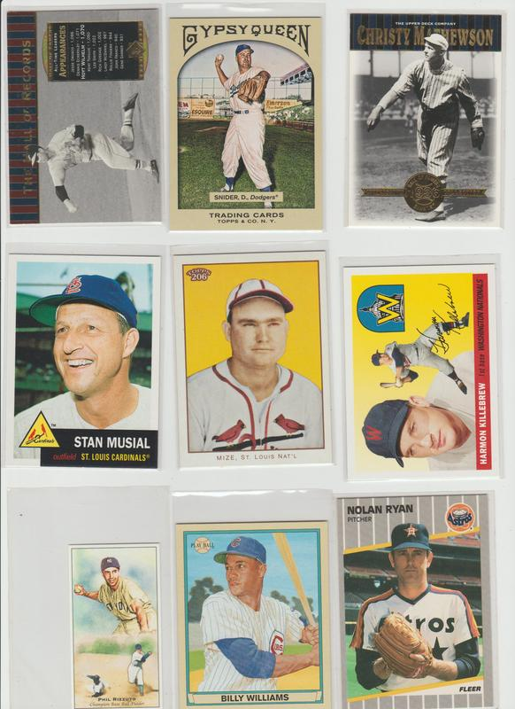 .15 CENT CARDS ALL SCANNED OVER 6000 CARDS  007