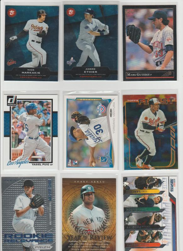 .15 CENT CARDS ALL SCANNED OVER 6000 CARDS  051