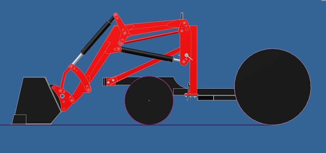 Proyecto de construccion de una pala para un mini tractor 004