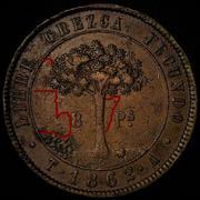Honduras,moneda provisional de 8 pesos,1862. 1-2.jpg_sorpresa
