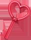 ¿Qué música estás escuchando? Key_heart_love_red