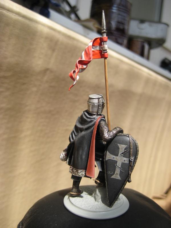 Рыцарь госпитальеров 11 век. Прапор. 55 мм. IMG_9011