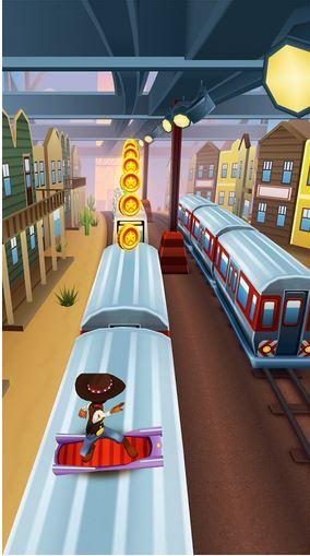 """الاصدار الجديد من لعبه المغامرات الشهيرة لاجهزة الاندرويد """" Subway Surfers Los Angeles v1.27 """" النسخه العاديه + المهكرة تحميل مباشر Image"""
