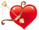 Caos is looking for... │ Búsqueda. Red_Heart_with_Cupid_Bow_PNG_Clipart_Picture