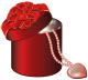 ¡No fui yo! ¡Fue la planta! [Libre] Valentine_Red_Round_Gift_Box_with_Heart