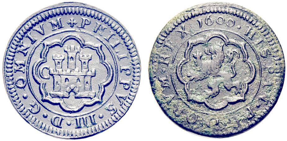 Tostao de Felipe III, Lisboa, dedicado al amigo jaenero 16omnium