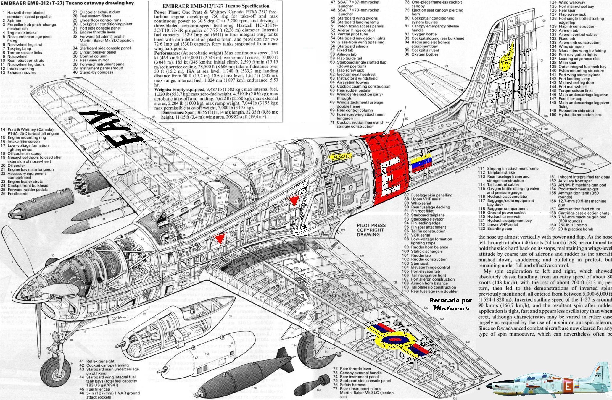 Entrenadores - Página 39 Cutaway_Embraer_T_27_Tucano_FAV
