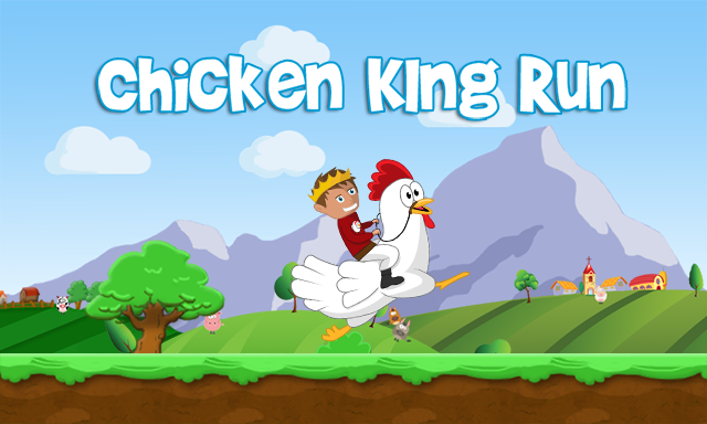 [JEU ANDROID - Chicken King Run] Jeu de plateforme [Gratuit] Presentation