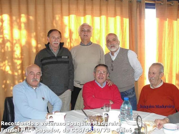 Faleceu o veterano Joaquim V Sá Madureira, Furriel Milº Sapadoir, da CCS/BCac4510/73 - 22Mar2016 12400667_1127296487322907_6806984626713593883_n