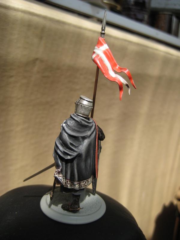 Рыцарь госпитальеров 11 век. Прапор. 55 мм. IMG_9008