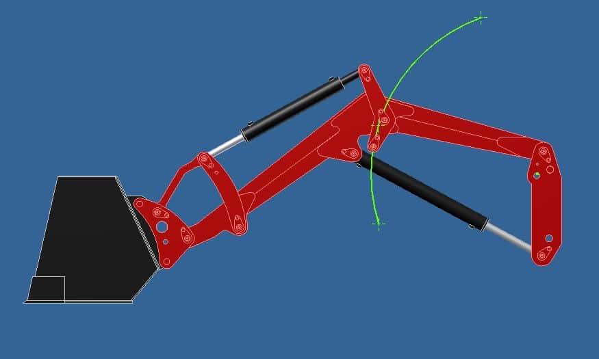 Proyecto de construccion de una pala para un mini tractor 013