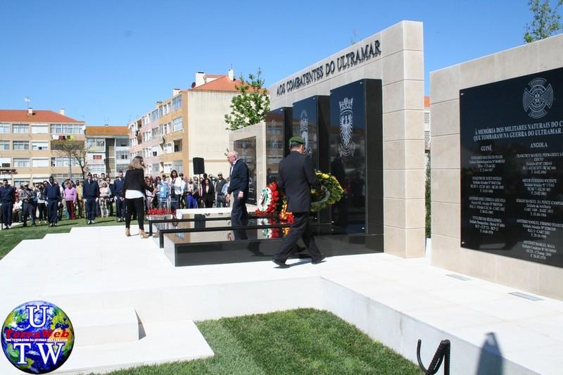 MONTIJO: As imagens da inauguração do Monumento de Homenagem aos Combatentes do Ultramar - 25Abr2016 20160425_39