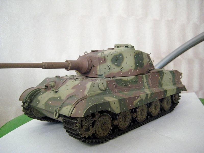 """Тяжелый танк """"Кинг тигр"""", Германия, Берлин, май 1945 г. 127"""