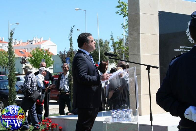 MONTIJO: As imagens da inauguração do Monumento de Homenagem aos Combatentes do Ultramar - 25Abr2016 20160425_81