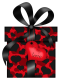 The dark fun. Valentines_Day_Black_and_Red_Gift_with_Hearts_PNG_Clipart_Pictur