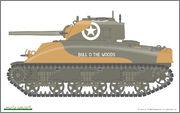 """M4A1 """"Sherman"""" 1/35 (Eduard 3716) 3716_b"""