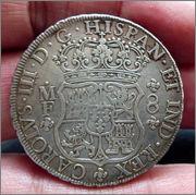 8 reales 1766. Carlos III. México. Dedicada a flekyangel y a Lanzarote 1766_Mo_CIII_am